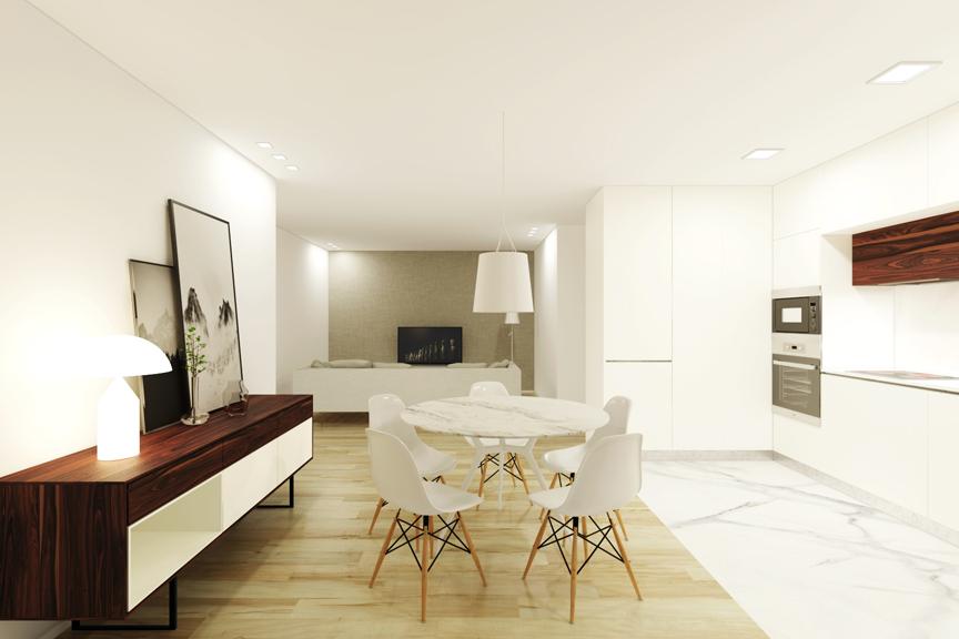 Sala cozinha 1 T2 B