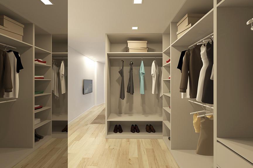 T3 D closet